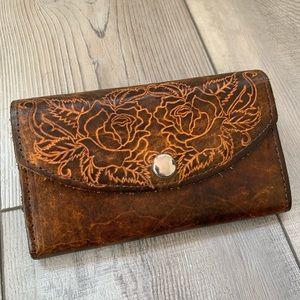 e499143fd7614 Women Hand Tooled Wallet on Poshmark
